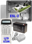 ESL-2 LCD ICON KP No Siren Kit